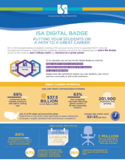 ISA Infographic Page 1